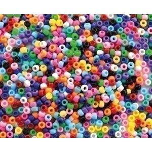 Playbox Plastic Kongo rijgkralen basiskleuren 1000 stuks