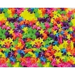 Playbox Plastic rijgkralen stervorm 1000 st 2470721