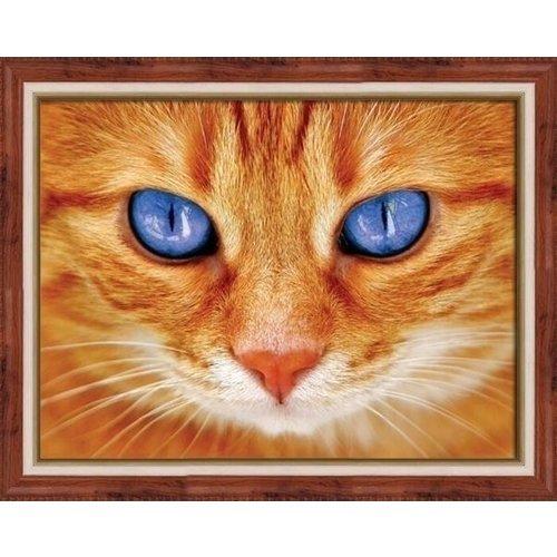 Artibalta Artibalta Diamond Painting Blue-Eyed Cat AZ-1716