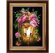 Artibalta Diamond Painting Lantern and Dogrose AZ-1723
