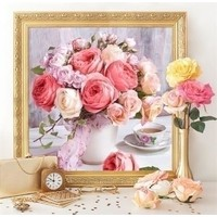 Diamond Painting Peonies and Roses AZ-1696
