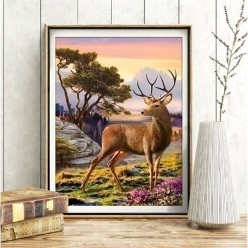 Artibalta Diamond Painting Pakket Noble Deer AZ-1692