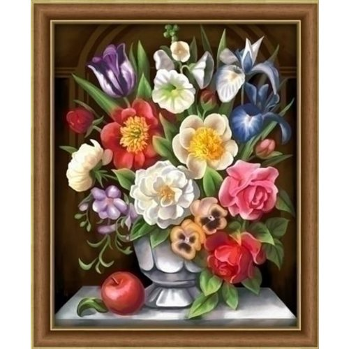 Artibalta Artibalta Diamond Painting Flowers AZ-1604