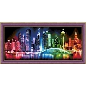 Artibalta Diamond Painting Shinning City AZ-1602