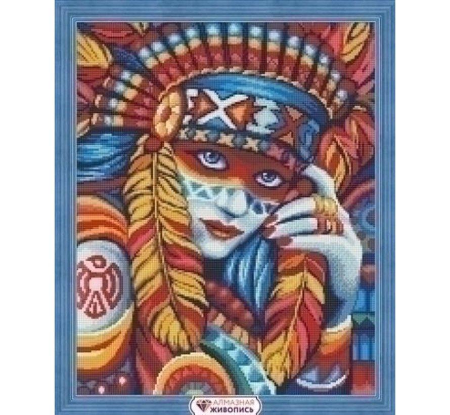 Artibalta Diamond Painting Beautiful Squaw AZ-1590