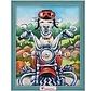 Artibalta Diamond Painting Dog the Biker AZ-1547