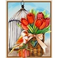 Diamond Painting Kit Spring Gift AZ-1470 Artibalta