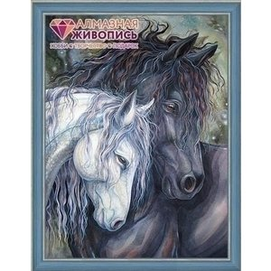 Artibalta Diamond painting pakket Twee Paarden AZ-1386