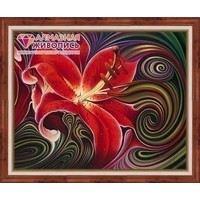 Diamond painting kit Red Phantasy AZ-1395