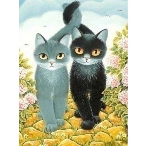 Artibalta Artibalta DIY Diamond painting Katten AZ-1301