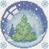 Diamond painting kit Christmas Tree AZ-1255
