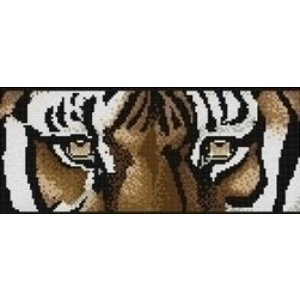 Artibalta Diamond painting kit Tiger's Eyes AZ-1230