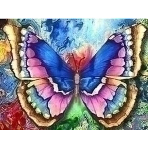Artibalta Diamond painting kit Butterfly AZ-1130