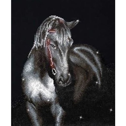 Diamond Dotz Diamond Dotz Midnight Stallion DD10.012
