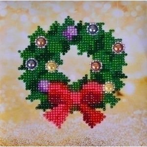 Diamond Dotz Diamond Dotz Christmas Wreath Picture DD2.037