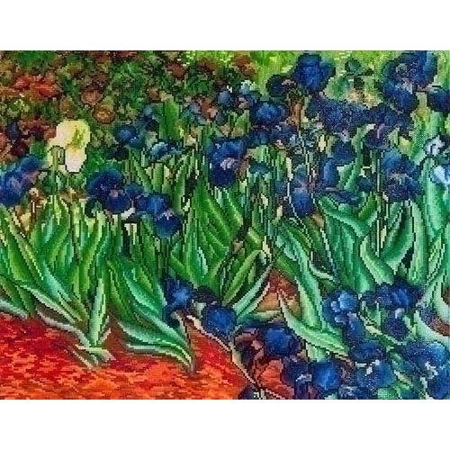 Diamond Dotz Diamond Dotz Irises (Van Gogh) DD13.007