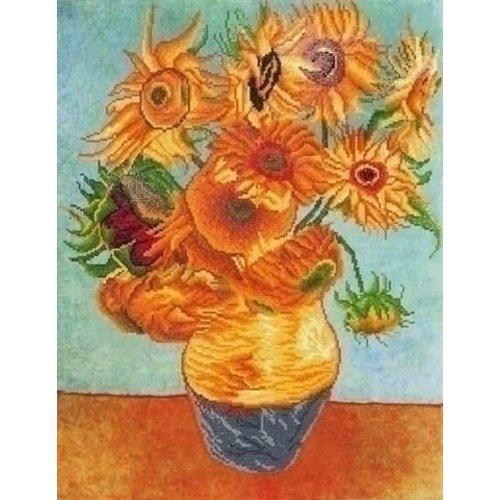 Diamond Dotz Diamond Dotz Sunflowers (Van Gogh) DD13.011