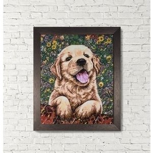 Wizardi Wizardi Diamond Painting Cute Puppy WD312