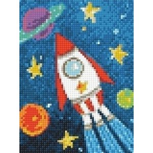 Wizardi Wizardi Diamond Painting Space Ship WD275