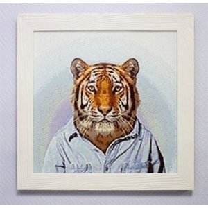 Wizardi Wizardi Diamond Painting Mr Tiger WD258