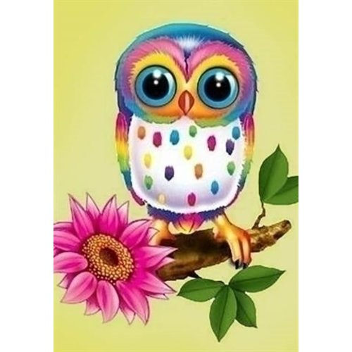 Wizardi Wizardi Diamond Painting Owl Maia WD248