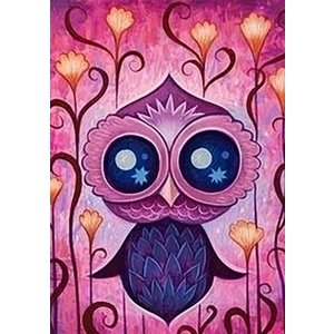 Wizardi Wizardi Diamond Painting Owl Leia WD245