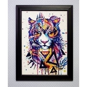 Wizardi Wizardi Diamond Painting Magic Tiger WD218