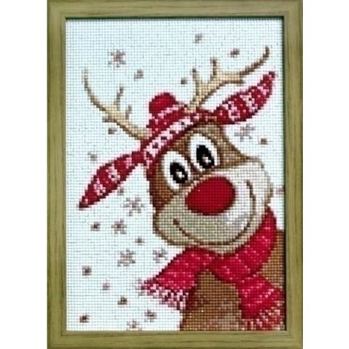 Wizardi Wizardi Diamond Painting Christmas Deer WD109