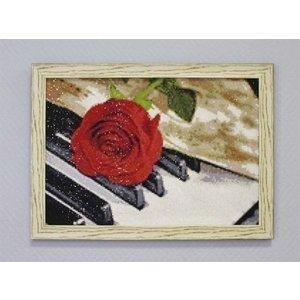 Wizardi Wizardi Diamond Painting Pakket Rose Music WD053