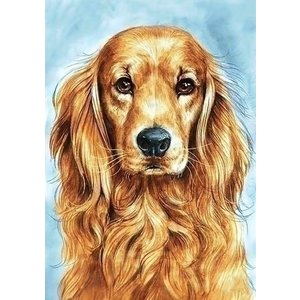Wizardi Wizardi Diamond Painting Golden Retriever WD180