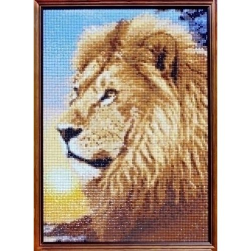 Wizardi Wizardi Diamond Painting Lion King WD070