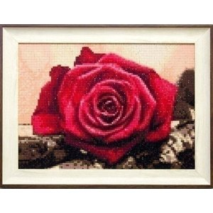 Collection D Art Diamond Painting Red Rose de4631 Collection D'Art