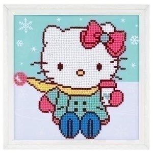 Vervaco Diamond painting Hello Kitty in de sneeuw 0175610