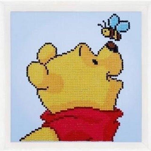 Vervaco Diamond Painting Disney Pooh met vlinder 0175276