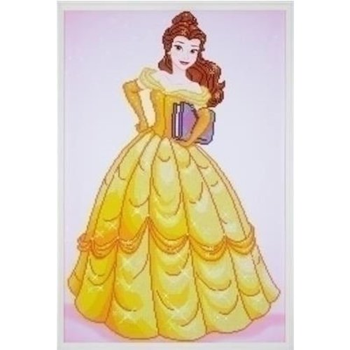Vervaco Vervaco Diamond Painting Disney Belle 0173559