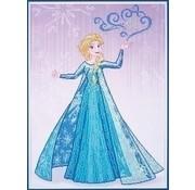 Vervaco Diamond Painting Disney Elsa tovert 0173562
