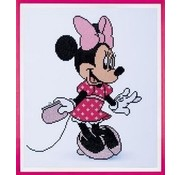 Vervaco Diamond Painting Disney Minnie met juwelen 0175284