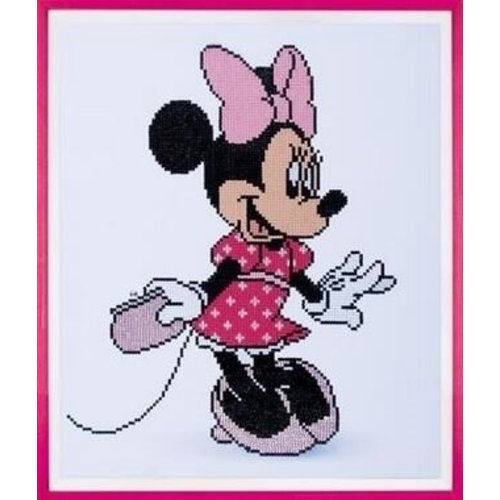 Vervaco Diamond Painting Disney Minnie met juwelen 0175284