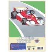 Pebaro Figuurzaag voorbeeld Raceauto