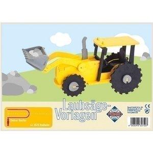 Pebaro Pebaro figuurzaag patroon bulldozer