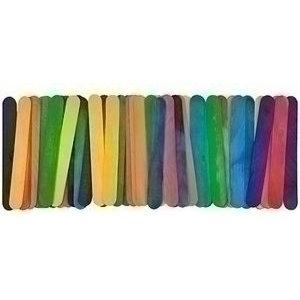 Eduplay IJslolliestokjes groot gekleurd 50 stuks