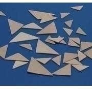 Woodsies driehoeken assorti 21853