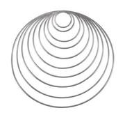 Metalen Ringen 25 cm 5 stuks