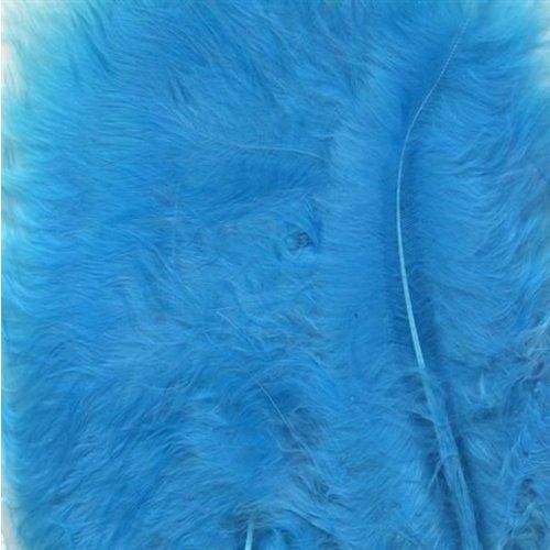 Marabou hobbyveren 8,5-12,5 cm 15 stuks Turkoois