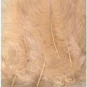 Marabou Knutselveren 8,5-12,5 cm 15 stuks Beige