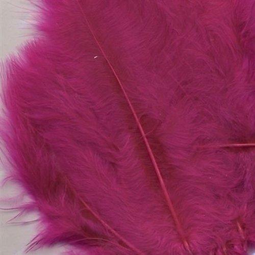 Marabou Knutselveren 8,5-12,5 cm 15 stuks Fuchsia