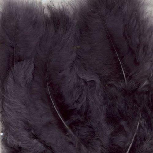 Marabou Veren 8,5 - 12,5 cm 15 stuks Grijs