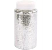 Eduplay Pot Glitter Zilver 500 ml