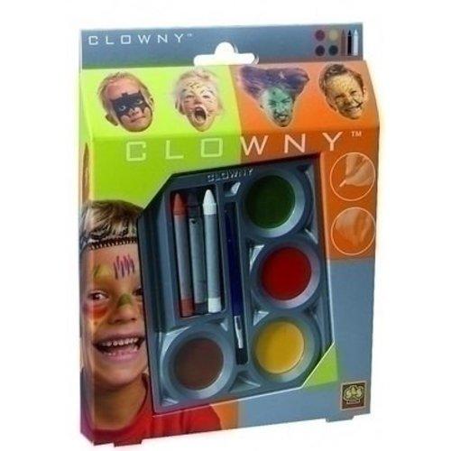 Ses Ses schmink set Indiaan 4 plus 3 kleuren