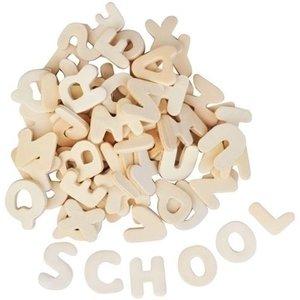 Playbox Houten letters 2,5 cm 300 stuks